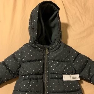 Beautiful brand new coat for infant